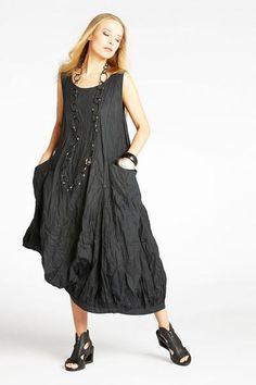 Kaliyana - N/S Fab Dress in Black Carnaby