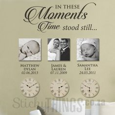 Moments Wall Art Sticker