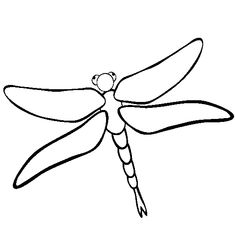 Cute Dragonfly Drawing - Quoteko. - ClipArt Best - ClipArt Best