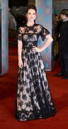 Lili james at EE British Academy Film Awards - February 10, 2013 - London, England