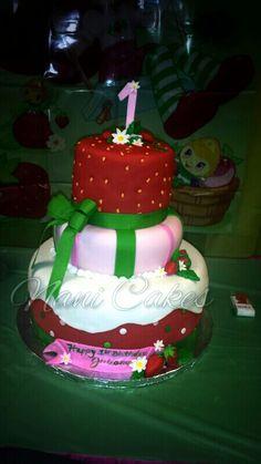 Strawberry short cake cake!