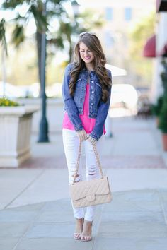 Finally Found: The Perfect Denim Jacket Southern Curls & Pearls waysify