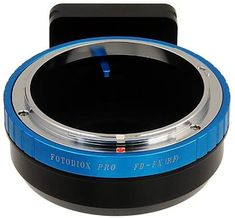 Fotodiox Pro Lens Mount Adapter - Compatible with Canon FD & FL SLR lens Compatible with Fuji X-Series Mirrorless Camera Body Canon Fd, Fuji X, Photo Accessories, Fujifilm, Nikon, All In One, Lens, Amp