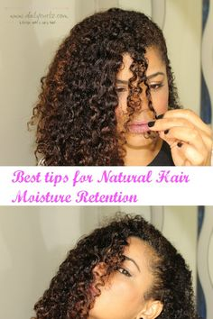 Lost moisture seems to be one of the main problems for curly haired girls, but to be honest chicas it is not so difficult. The main thing that you have to keep in mind, is that only you can determine when and how much moisture you put into your curly hair, how do you determine that?