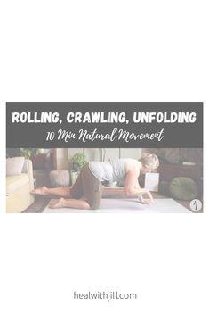 10-minute natural movement flow Flow, Rolls, Healing, Natural, Buns, Bread Rolls, Nature, Au Natural