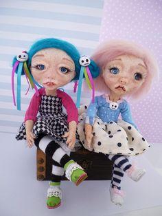 #poseable #dolls #ooak #artdoll