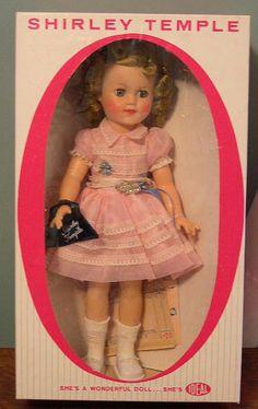 Shirley Temple Dolls - Ideal Dolls #DollShopsUnited