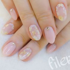 If you want to paint your nails with Japanese nail art designs. So, here we have compiled a list of these Japanese nail designs for your inspiration. Gold Nail Art, Cute Nail Art, Cute Nails, Pretty Nails, Japanese Nail Design, Japanese Nail Art, Light Pink Nails, Pastel Nails, Best Nail Art Designs
