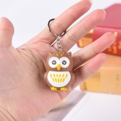 Cute Owl Led Key Chain Torch Make Sound And Light Cartoon Owl Hooking Key Rings Hot Sale  Price: 137.10 & FREE Shipping #computers #shopping #electronics #home #garden #LED #mobiles #rc #security #toys #bargain #coolstuff  #headphones #bluetooth #gifts #xmas #happybirthday #fun Owl Cartoon, Novelty Lighting, Cute Owl, Electronics Gadgets, Key Rings, Key Chain, Tech, Free Shipping, Mobiles