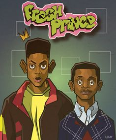 Fresh Prince of Bel-Air on CCS Portfolios Fresh Prince of Bel-Air on CCS Portfolios<br> Dope Cartoon Art, Dope Cartoons, Black Cartoon, Trill Cartoon, Black Girl Art, Black Women Art, Art Girl, Black Girls, Arte Do Hip Hop