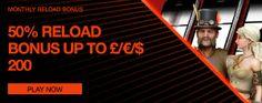 NEXT CASINO - Monthly Reload Bonus !! - UK Casino List
