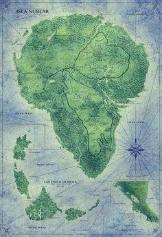 Jurassic Park's Isla Nubula map