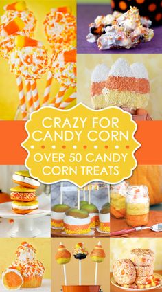 Candy Corn Recipe Round Up