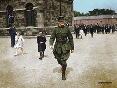 Irish Army - Michael Collins GOC Ireland 1916, Michael Collins, Dublin City, Aesthetic Anime, Celtic, Irish, Black And White, History, Colonial