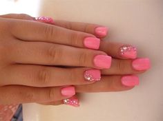 barbie nails omg really love these