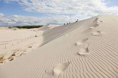 Spektakulär: die Dünenlandschaft des Słowiński-Nationalparks beim Badeort Leba