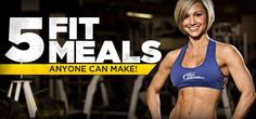 Simple Diet Plan - Get Hard The Easy Way With 5 Fit Meals