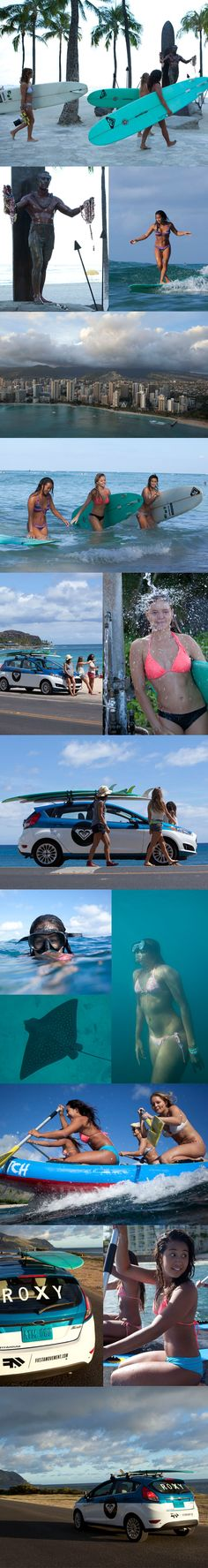 ROXY Hawaii: Join Kelia's Ride with FORD FIESTA #FiestaMovement   Episode 2 is here! Watch it now!