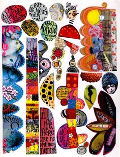 page of free to use collage sheets for Zetti Images ; Free Collage, Digital Collage, Paper Art, Paper Crafts, Scrap, Mixed Media Collage, Art Journal Inspiration, Mail Art, Funny Art