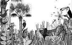 Les papiers peints les plus inspirants pour une chambre d'enfant / Papier peint The Wild (Bien Fait)