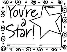 You're a Star certificate 1