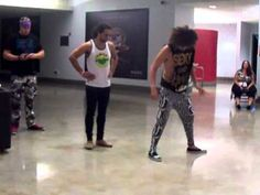Shuffling tutorial by LMFAO! Who knew that shuffling could be such great exercise? Almost killed myself today.