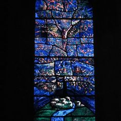 The Flowering Tree (detail) - Stained Glass - Work - The Roger Wagner Website