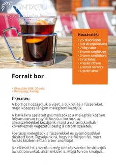 Egy finom forralt bor mindig segít felmelegedni ebben a hűvös időben! A mi kedvencünk ez a családi recept: #TinTatu #Fotokonyv #Forraltbor