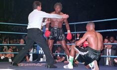 Nigel Benn and Gerald McClellan - the greatest fight iv'e ever seen , albeit an unhappy outcome