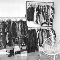 DIY - Do it yourself - Design dit eget tøjstativ i vandrør - Har du specielle krav til et tøjstativ eller et større projekt, så kan vi hjælpe dig.