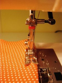 How I hem knits with a double needle. We could use this @Emily Schoenfeld Rogers