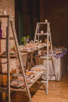 Awesome Rustic Wedding Food Display Ideas