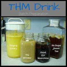 THM Drinks - batch prep