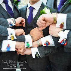 Cool cuffs or what the groomsmen were all superheroes #fieldphotographicportraits #merv_spencer #groomsmen #wedding #cuflinks #horsleylodge   From Field Photographic Portrait Studio   http://ift.tt/20TBije