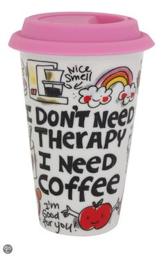 Blond Amsterdam Coffee to Go Beker Therapy