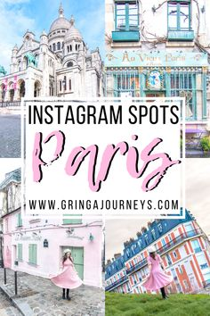 Find out all of the best Instagram spots in Paris before your France vacation in this guide! Popular photography locations in Paris are included in a map at the end of this article. For example, La Maison Rose, Au Vieux Paris d'Arcole, Sacré Cœur, and more! | best places for photoshoot paris | paris instagram spots | most instagrammable places in Paris | instagram places in pairs | paris instagram photos | beautiful pictures of paris city | pretty places in pairs | cute eiffel tower photos