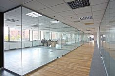 Glass Partitions office .  alumikadesign.com