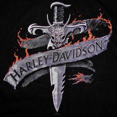 Harley Davidson Demon Dagger T-Shirt