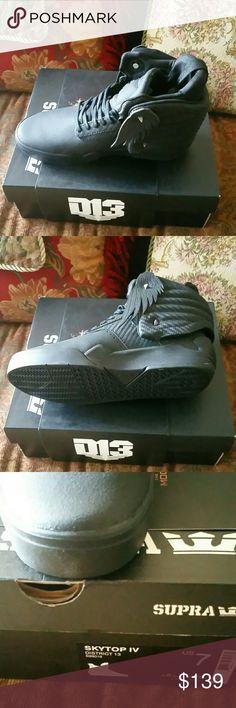 NWT Supra Skytop IV Top districts 13 sneaker Sz 7 SZ 7 Men's women's Sz 8 Supra Shoes Sneakers