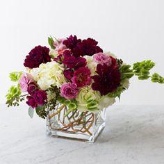 romantic floral display