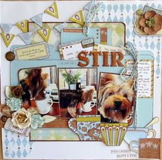 """Stir"" by Val, as seen in the Club CK Idea Galleries. #scrapbook #scrapbooking #creatingkeepsakes"