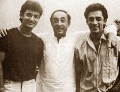 Aamir Khan with his Brother and Father