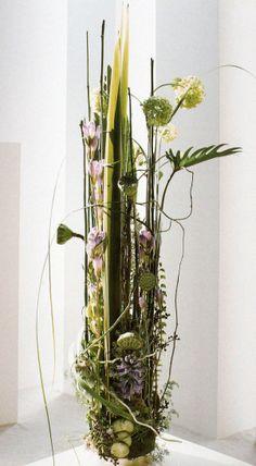 "Viburnum opulus ""sterile"", Nelumbo nucifera, Phormium tenax, Vanda rothschildiana, Philodendron angustisectum, Hyazinthus orientalis, Aristea cyanea, Gentiana, Equisetum palustre. by Gregor Lersch"