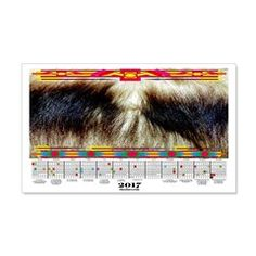 2017 Calendar Native American Wall Decal  More than 100 to choose from.  Follow this link   http://www.cafepress.com/cheylines/14087576