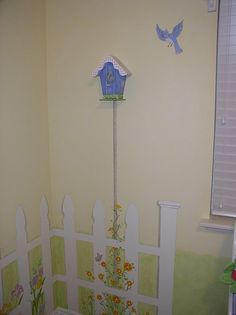 1000 images about girls room on pinterest bunk bed for Garden themed bedroom ideas