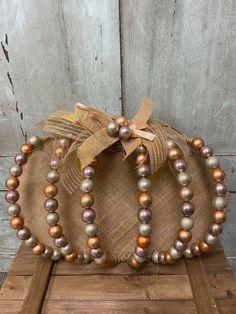 Diy Fall Wreath, Wreath Crafts, Fall Diy, Fall Wreaths, Wreath Ideas, Dollar Tree Pumpkins, Dollar Tree Fall, Diy Crafts And Hobbies, Wire Wreath Forms