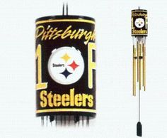 PITTSBURGH STEELERS NFL LICENSED WIND CHIME