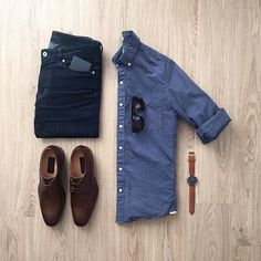 WEBSTA @ - Date night Question: What would you wear on a first date? Let me know in the comments below! Fashion D, Fashion Outfits, Stylish Men, Men Casual, Gentleman Style, Mens Clothing Styles, Casual Outfits, Summer Outfits, Menswear