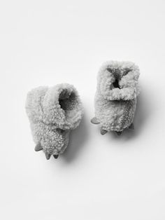 Sherpa bear bootie - picked up these cuties the other day. Can't wait to see his feet in them