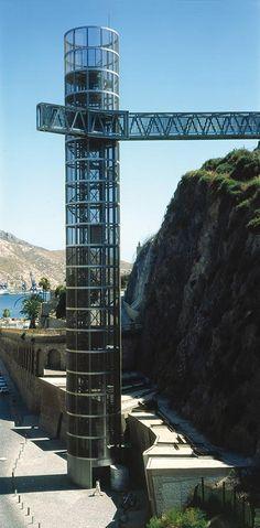 Martin Lejarraga. Arquitecto | Ascensor Panorámico, Acondicionamiento de Accesos y Refugios y Edificio de Usos Múltiples en calle Gisbert